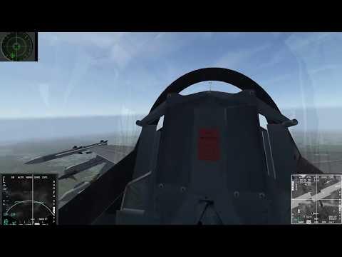 Falcon BMS - 31th VFS - LGB tactics test 2