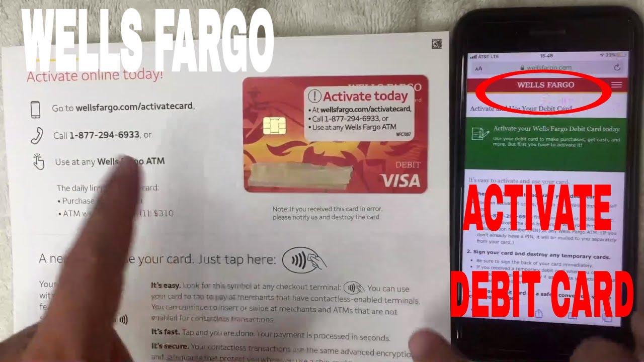 ✅ How To Activate Wells Fargo Debit Card 🔴
