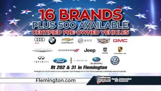 Presidents' Day Sale | 16 Brands | 500 CPO Cars | Flemington Chevrolet Buick GMC Cadillac | 08822