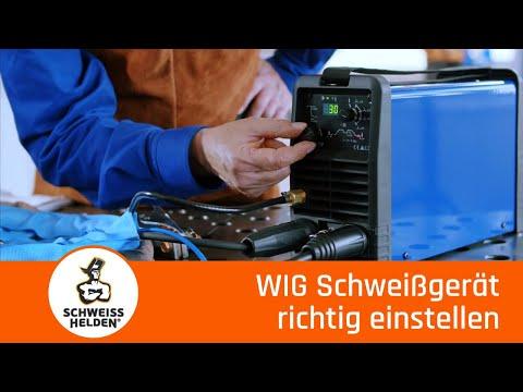 13. Heldenlektion - Richtiges Einstellen von WIG Schweissgeräten (WIG Schweissen)