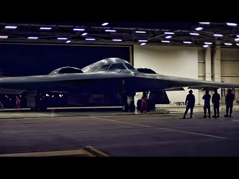 B-2 Bombers Takeoff From Whiteman AFB Headed To Pacific