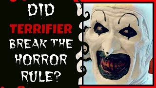 Terrifier | Did it break the Horror Rule? (REVIEW)