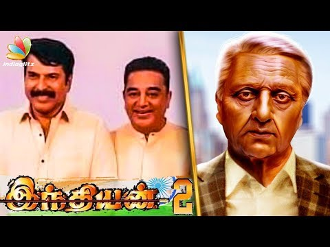 INDIAN 2 : Kamal Join Hands with Mammootty ? | Shankar Movie | Hot Tamil Cinema News