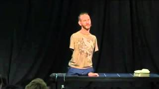 Nicholas James Vujicic No arms.. No legs.. No worries!