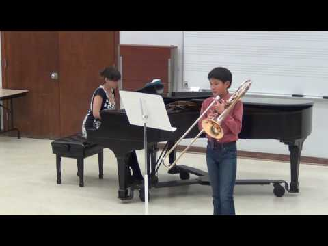 Geoffrey trombone Recital 5/10/16 - Sang Till Lotta