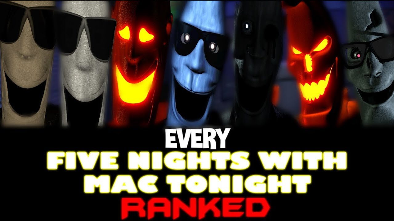 Every Five Nights With Mac Tonight Game RANKED!