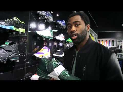 Nike Zoom Revis 1 'Jets' with Darrelle Revis