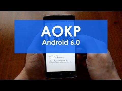 Тестирование прошивки AOKP (Android 6.0)   OnePlus One