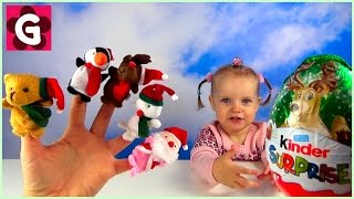 Finger Family Christmas Song with Gaby and Mommy