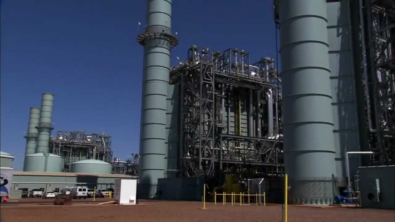 Find Gas Stations >> Mesquite Generating Station - YouTube