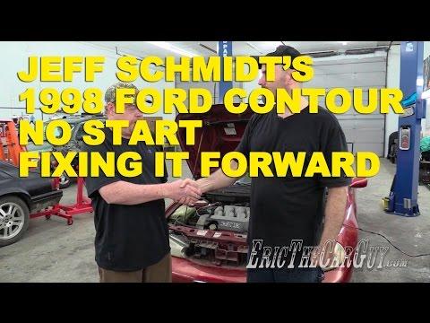 jeff schmidt\u0027s 1998 ford contour no start fixing it forward youtube 1995 Dodge Intrepid Engine Diagram
