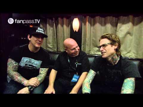 BuckCherry Tour Bus Interview with Matt Pinfield