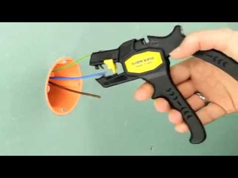jokari super 4 plus wire stripper youtube. Black Bedroom Furniture Sets. Home Design Ideas