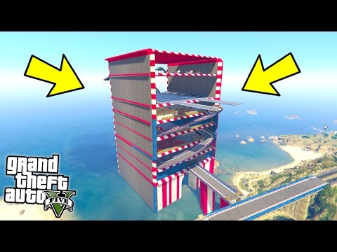 WHAT'S INSIDE THIS MYSTERY TOWER?! (GTA 5 Mods)