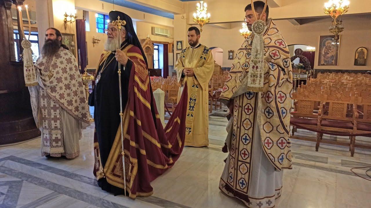 Αρχιερατική Θεία Λειτουργία - Ι. Ν. Αγίας Μαρίνας Ηλιουπόλεως - Ιερό Παρεκκλήσιο Αγίου Νεκταρίου - 9-11-2020