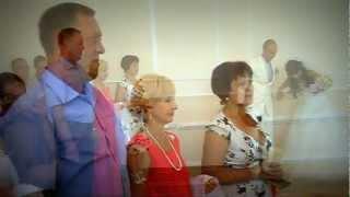 Свадебная регистрация в Батайске Неверовы 04.08.2012