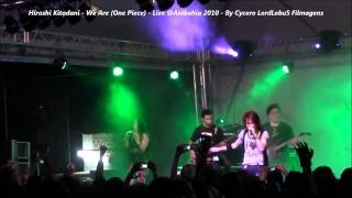 Hiroshi Kitadani - We Are (One Piece) Live @Anibahia 2010 - FullHD