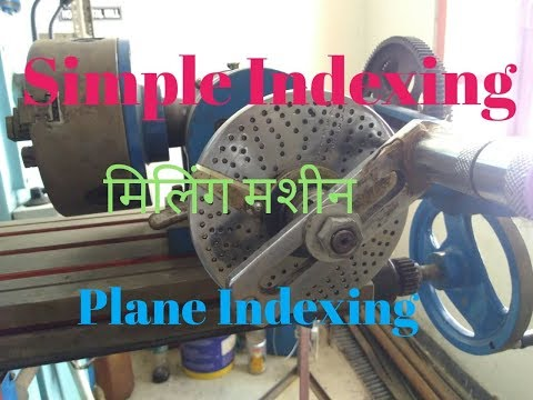 Simple Indexing मिलिंग मशीन In हिंदी Youtube
