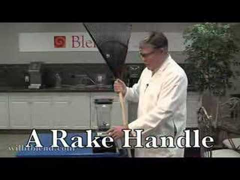 Will It Blend? - Rake Handle