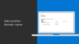 How to add another domain name in Microsoft 365 Business Premium