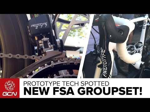 NEW FSA Electronic Groupset Spotted! Prototype Tech At The 2015 Tour De France