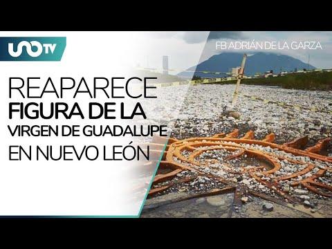 ¡Ni un huracán pudo con ella! Reaparece Virgen de Guadalupe en Nuevo León