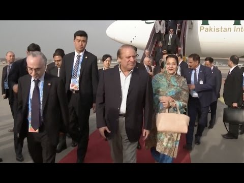 Pakistani PM Arrives in Beijing for Belt and Road Forum