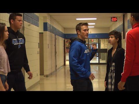 The Breakfast Club - Hallway Running Scene (Remake)