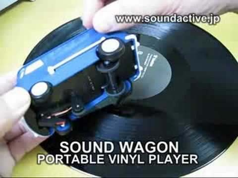 SOUND WAGON PORTABLE VINYL PLAYER