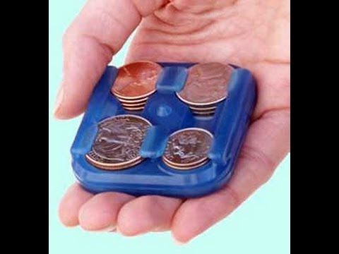 CHAWLY CHANGER - a handy coin holder and dispenser