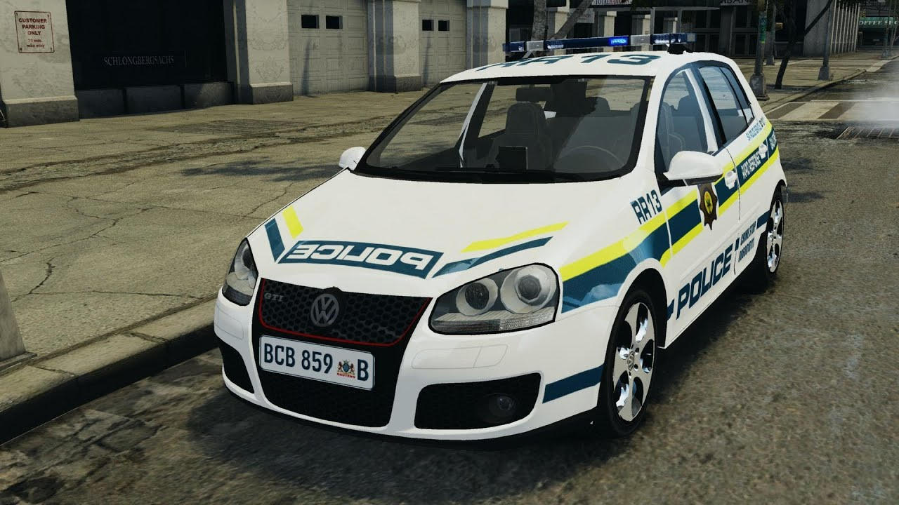 Golf 5 gti south african police service els for gta 4 youtube
