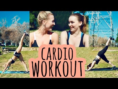 15 minute workout with Amy Castle and Sydney Benner!