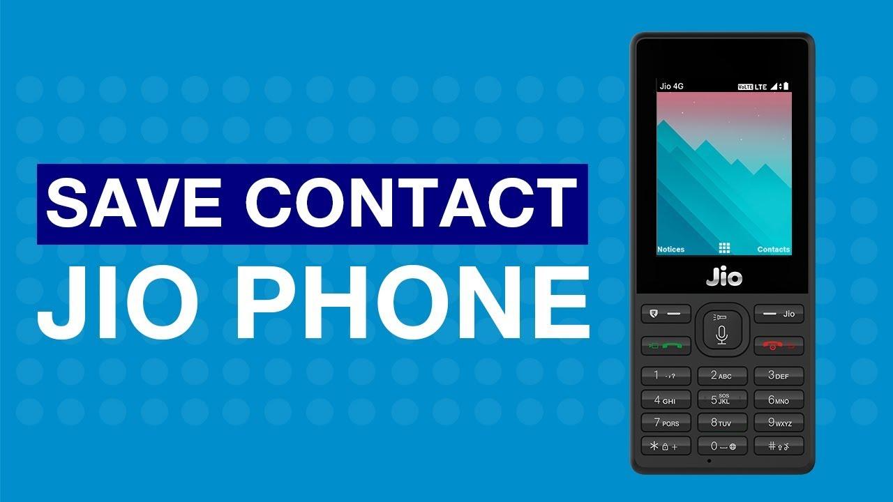 JioCare - How to Save Contact on JioPhone (Hindi) | Reliance Jio