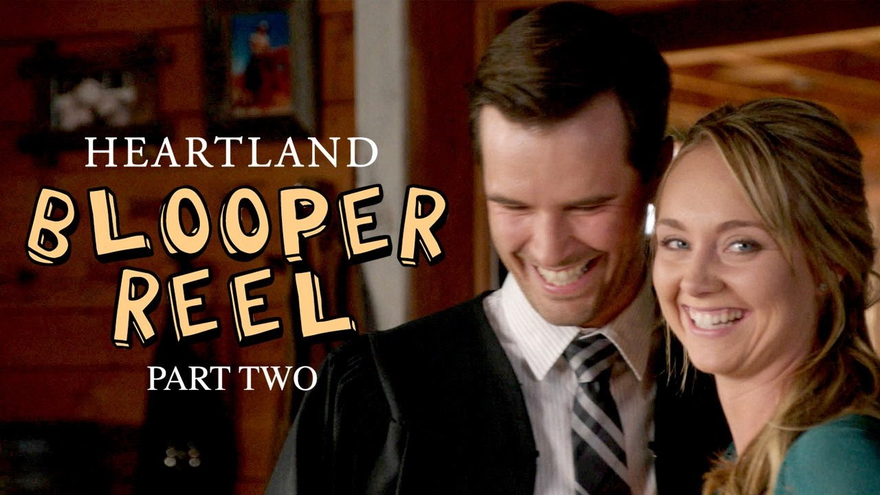 Season 9 Bloopers Part 2 | Heartland | CBC - YouTube