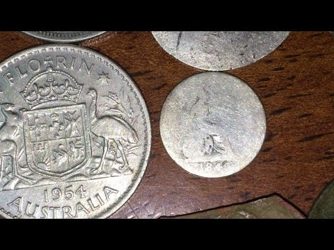 How To Metal Detect Old Silver Coins