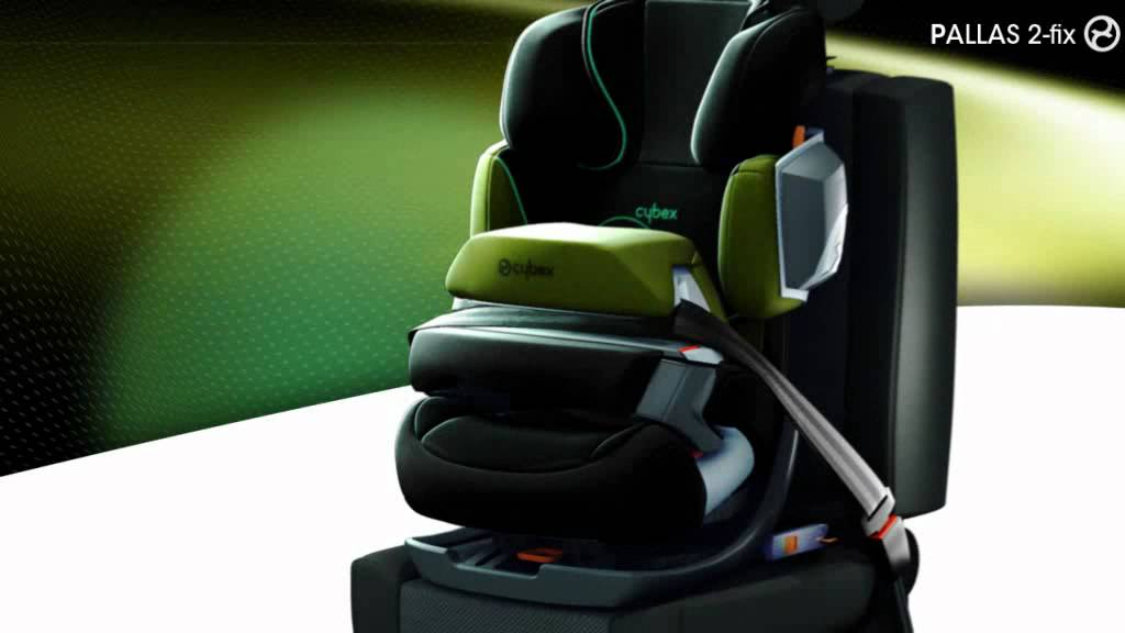 cybex gold line pallas 2 fix mit isofix kinderautositz youtube. Black Bedroom Furniture Sets. Home Design Ideas