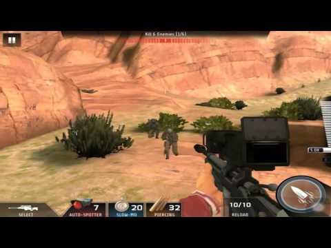 Kill Shot Bravo Region 20 Primary Mission 3 - Kill 6 Enemies