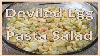 Deviled Egg Pasta Salad Recipe!