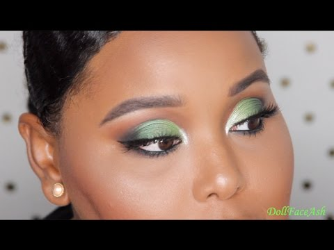 Emerald Eyes Makeup Tutorial |DOLL FACE ASH|