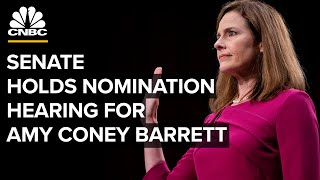 WATCH LIVE: Senate holds next phase of Judge Amy Coney Barrett's confirmation hearing — 10/13/2020