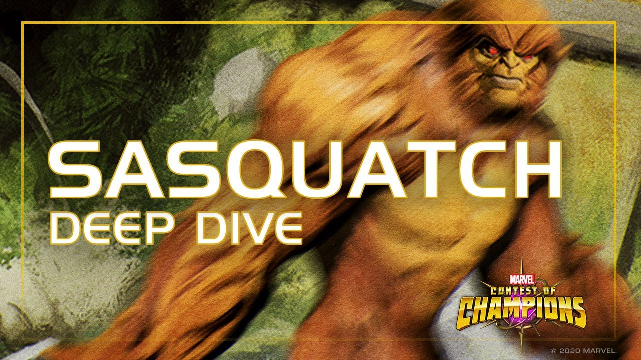 Sasquatch Deep Dive: Regenerate and Dominate | Marvel Contest of Champions