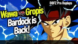 【DBFZ】 Wawa vs Gropis, Bardock is back!! 【DBFZ Pro Replays】