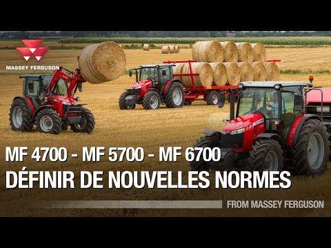 MF 4700, MF 5700 et MF 6700. Définir de nouvelles normes. Renouveler les attentes (Français)