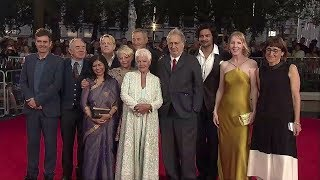 Victoria & Abdul (2017 Judi Dench Period Drama) - Official UK Premiere in London Footage (4 mins)