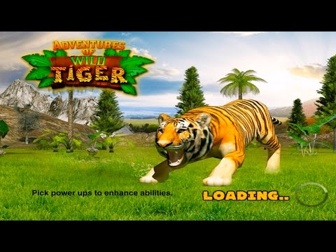 Adventures of Wild #Tiger  By Tapinator, Inc. Simulation - iTunes/Android