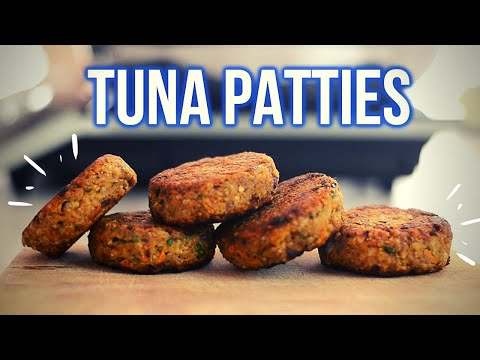 How To Make Easy Tuna Patties (No Breadcrumbs!)