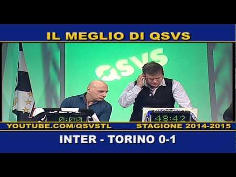 QSVS - I GOL DI INTER - TORINO 0-1  - TELELOMBARDIA