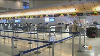 LAX Sees Decline In Travelers As Coronavirus Spreads