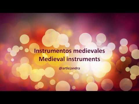 Instrumentos musicales de la Edad Media / Medieval musical instruments