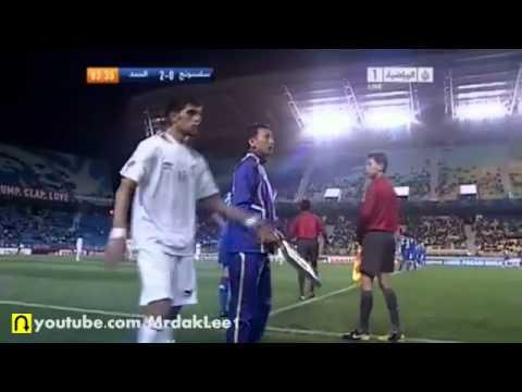 FIGHT between Al Sadd Suwon Samsung Bluewings players Asian Champions League 2011